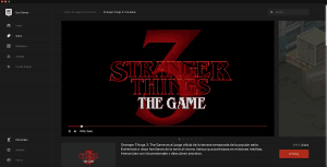 Strangers Things:3 The Game