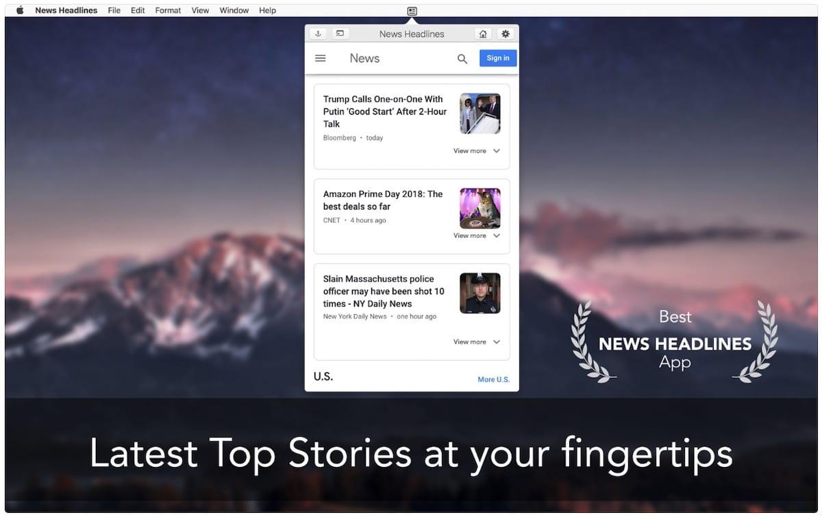 News Headlines for Google News