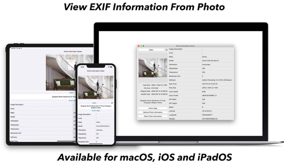 Photo Information Viewer -EXIF