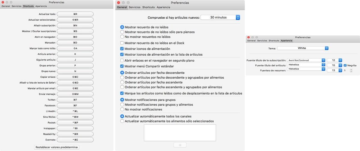 Aktuell - Lector RSS para Mac