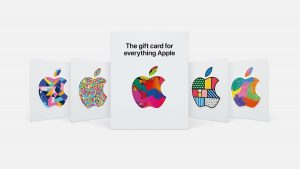 Nuevas tarjetas regalo de Apple