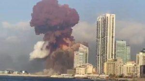 Explosion en Beirut
