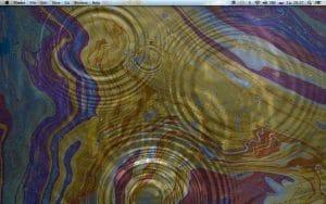 Ondas de agua fondo de pantalla