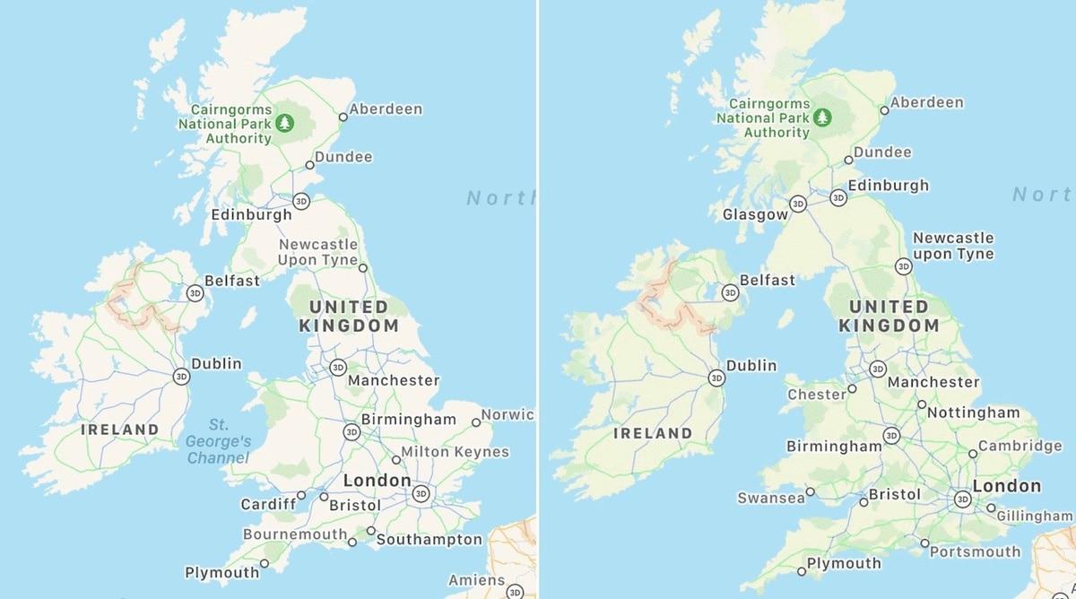 MEjora de mapas en Apple Maps