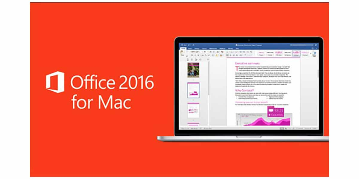 Office 2016 para Mac