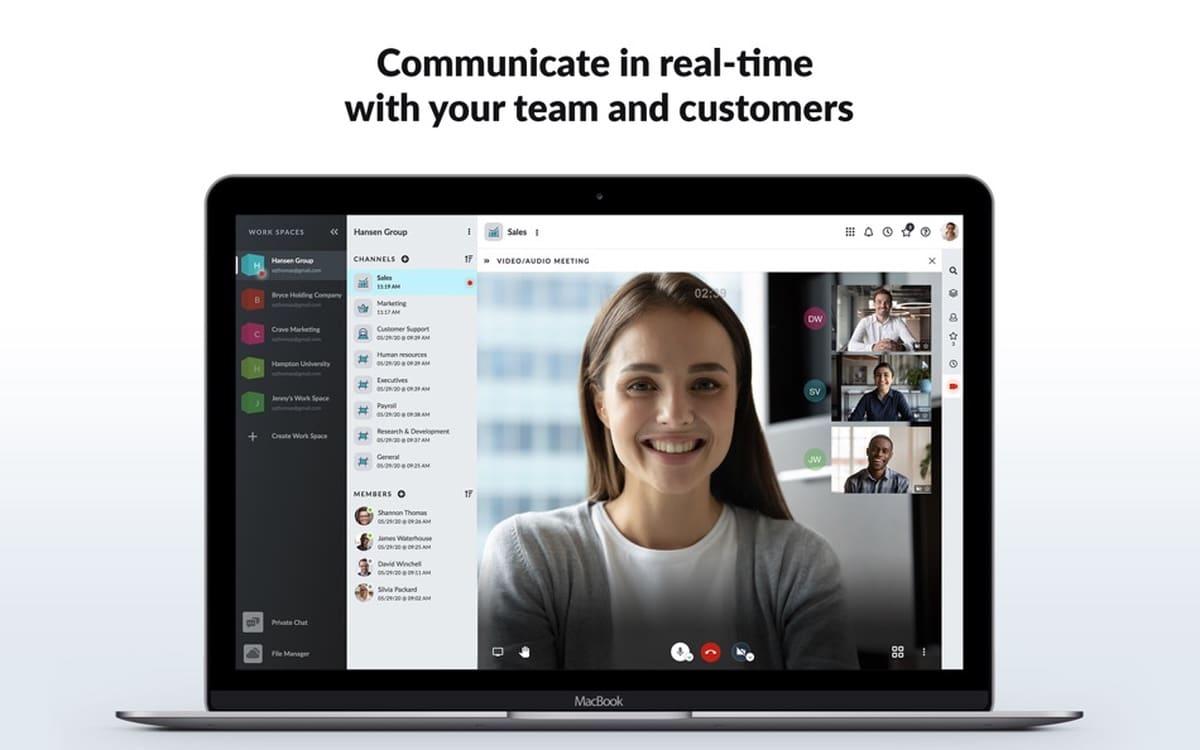 Otixo es un programa para el trabajo colaborativo
