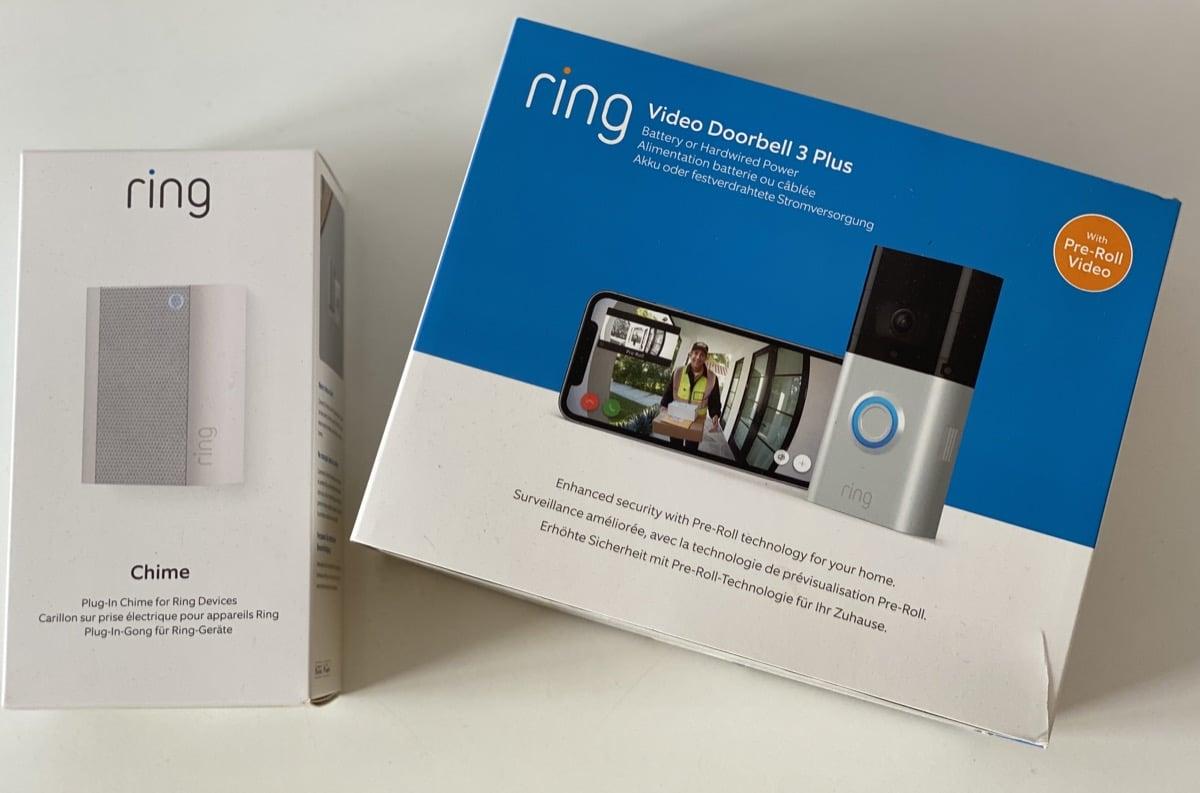 Caja Ring Video Doorbell