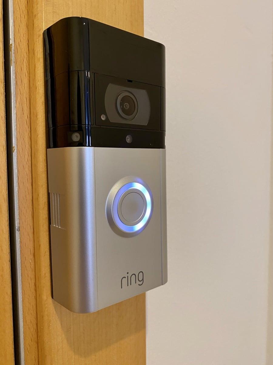 Ring Video Doorbell instalado