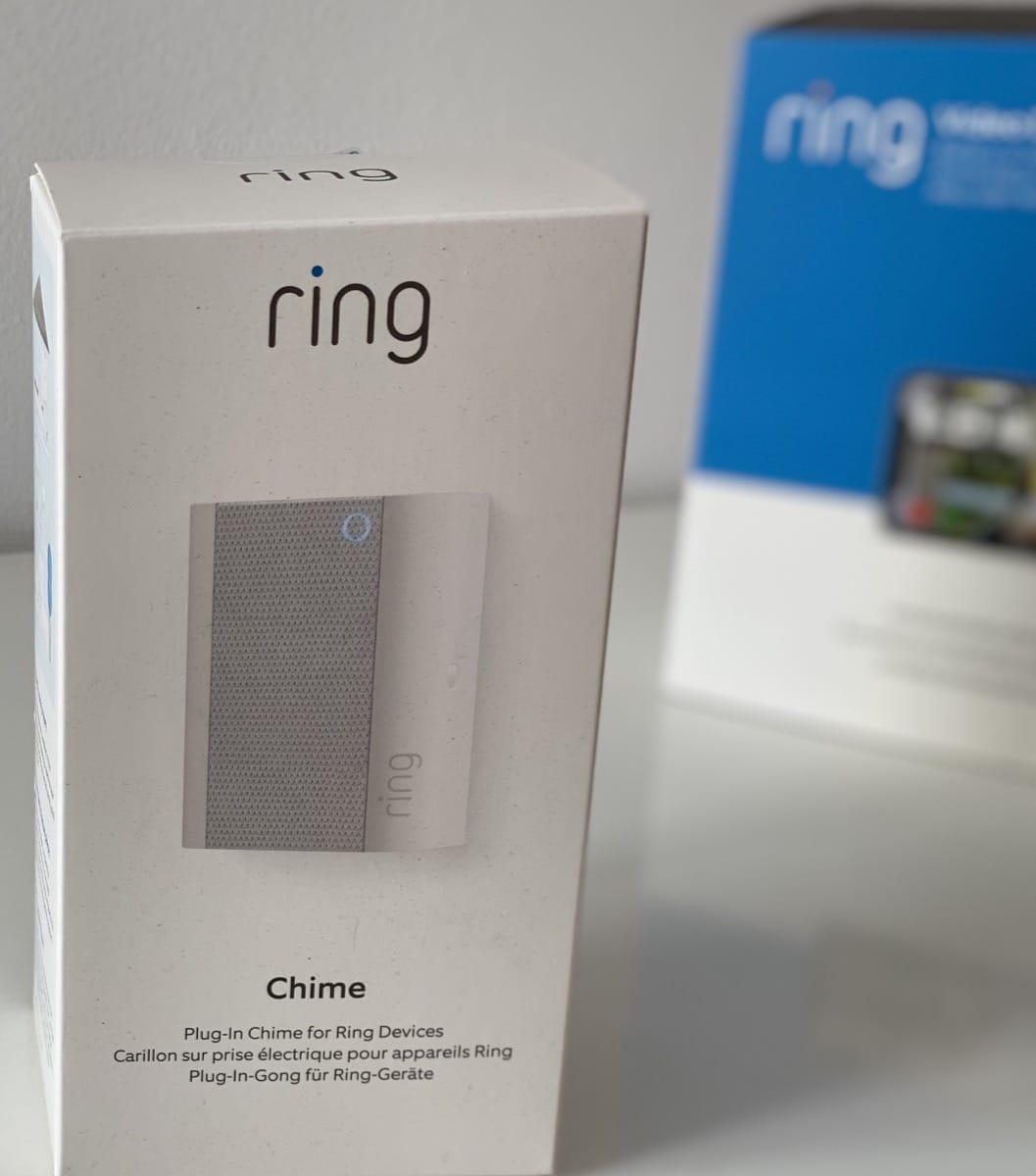 Ring Chime caja