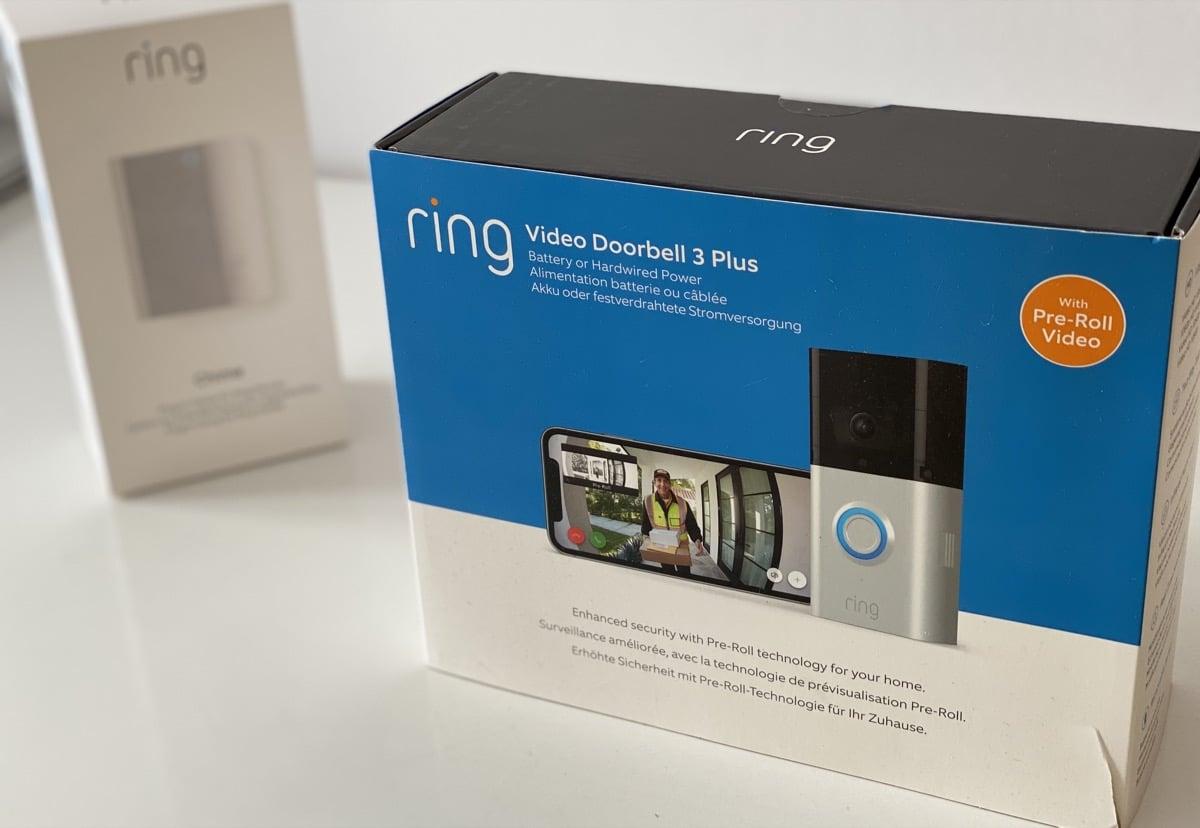 Ring Video Doorbell y Chime