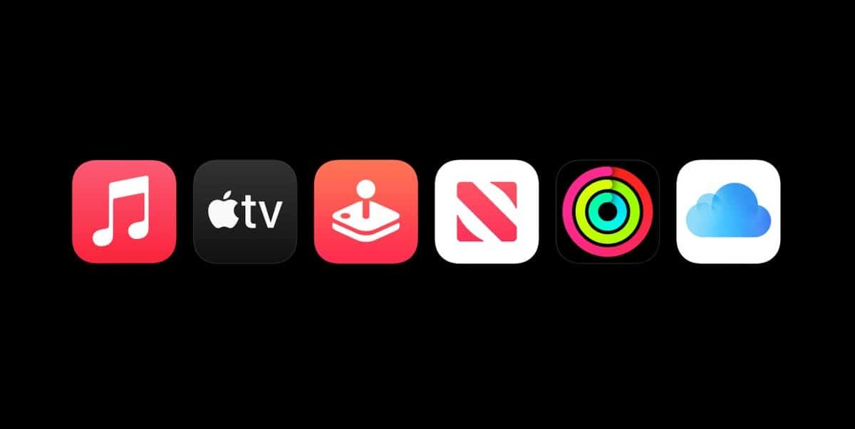 Los servicios de Apple One