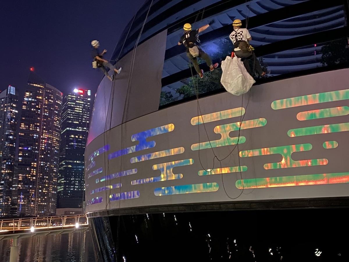 Apple Store en Singapur a punto de abrir