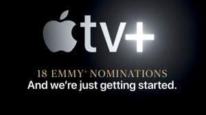 Apple publicitadla candidatura a los premios Emmy