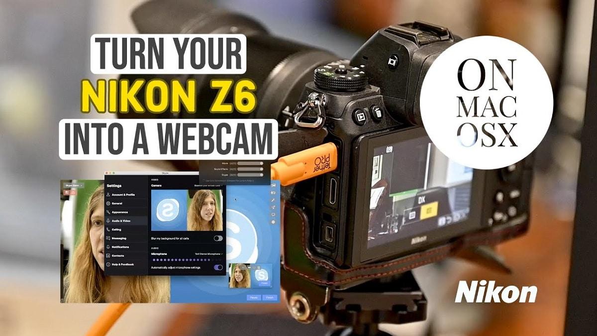 Utiliza tu camara Nikon como Webcam