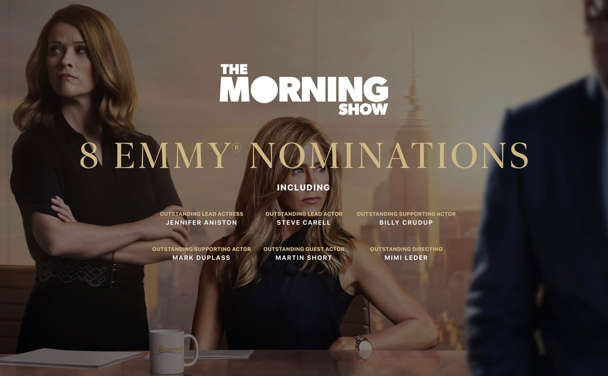 Nominaciones a los premios Emmy de la serie The Morning Show