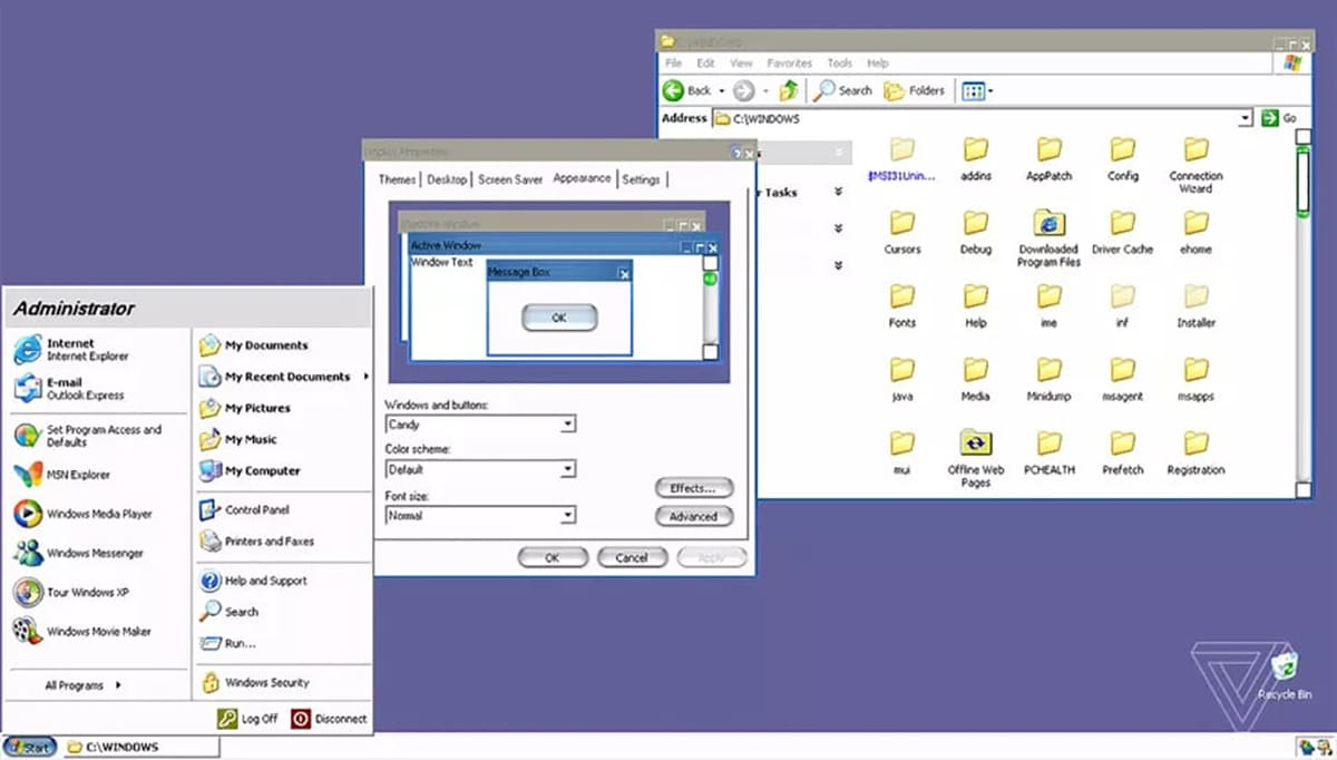 Windows XP - Tema Aqua OS X