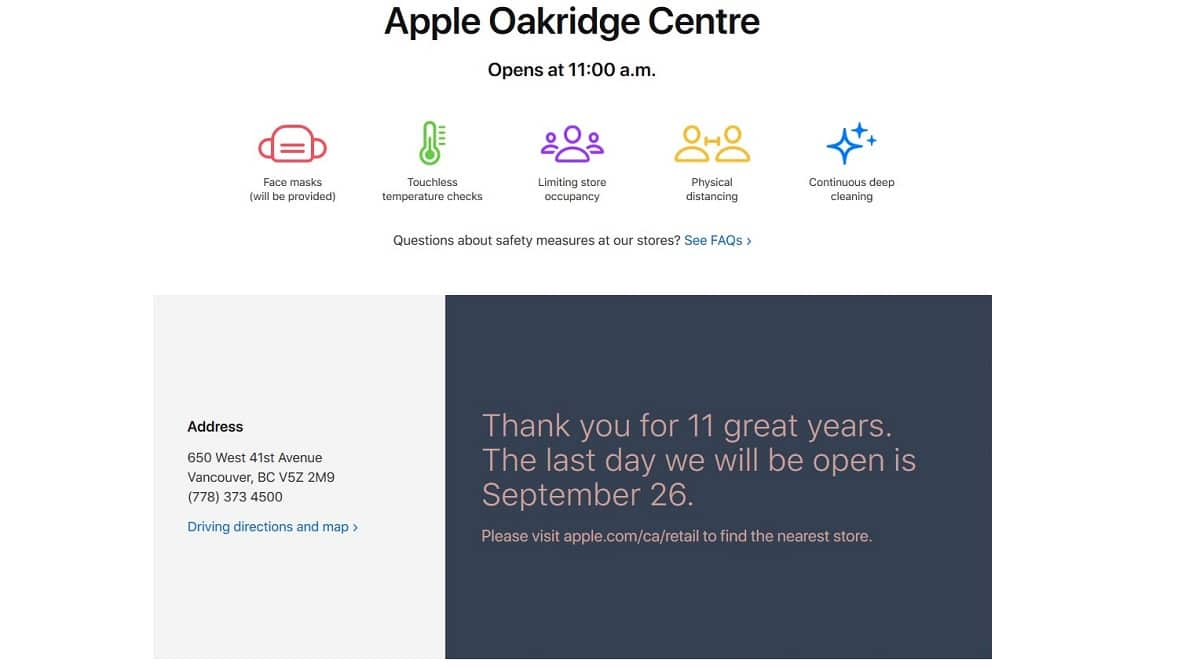 Apple Store Oakridge