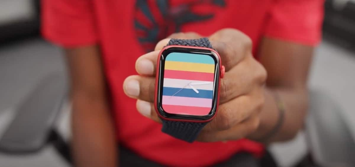 Apple Watch rojo Marques