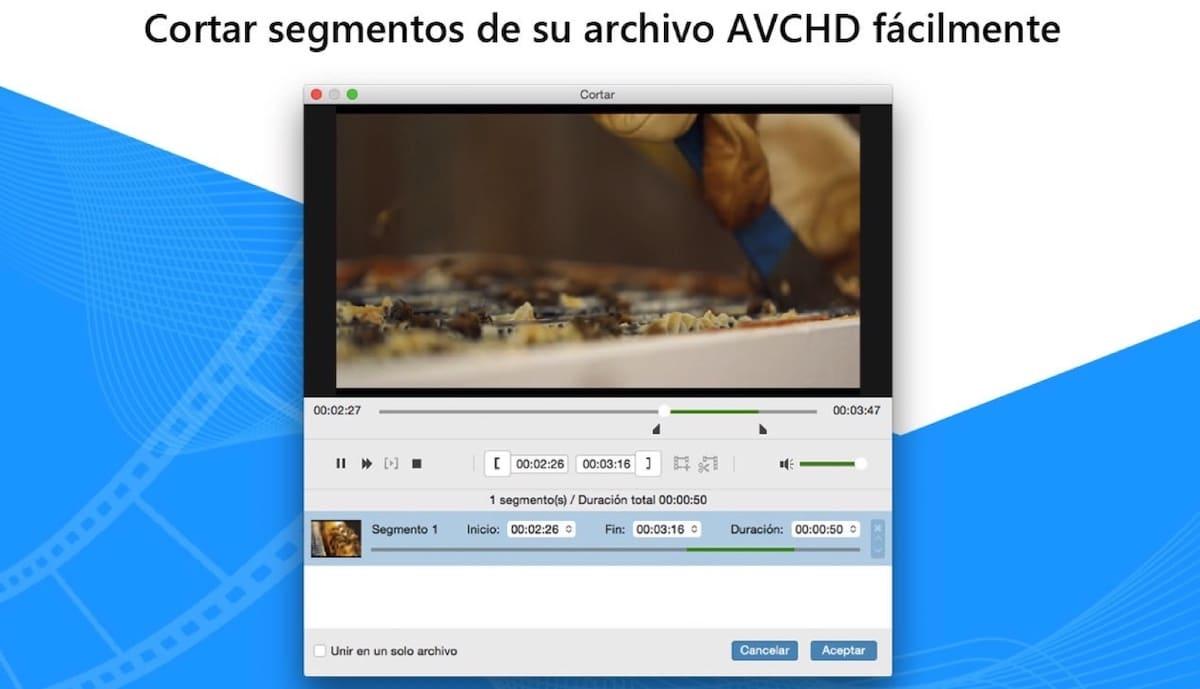 Convertidor AVCHD-MP4/AVI