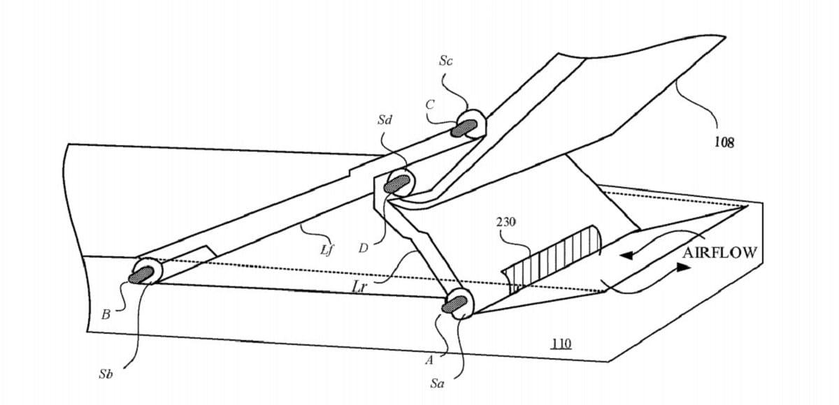 Nueva patente de Apple para una mayor ergonomía del MacBook Pro