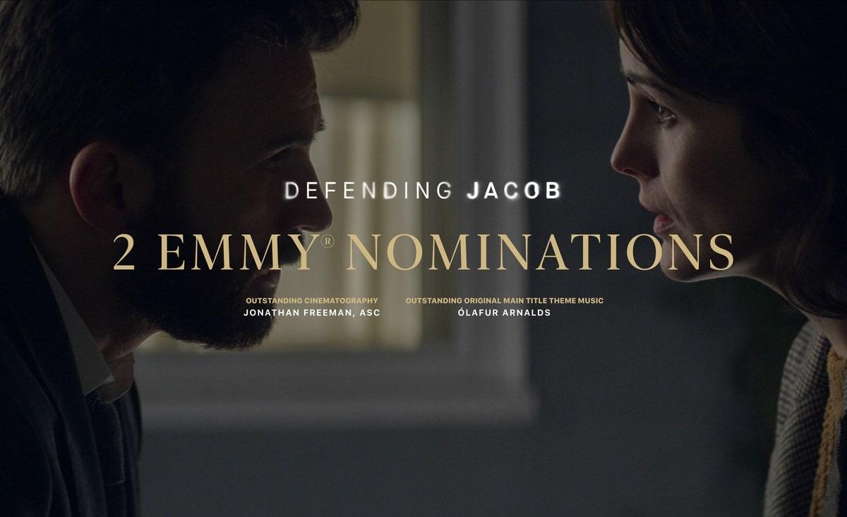Defending Jacobs forma parte de las series nominadas a premios Emmy