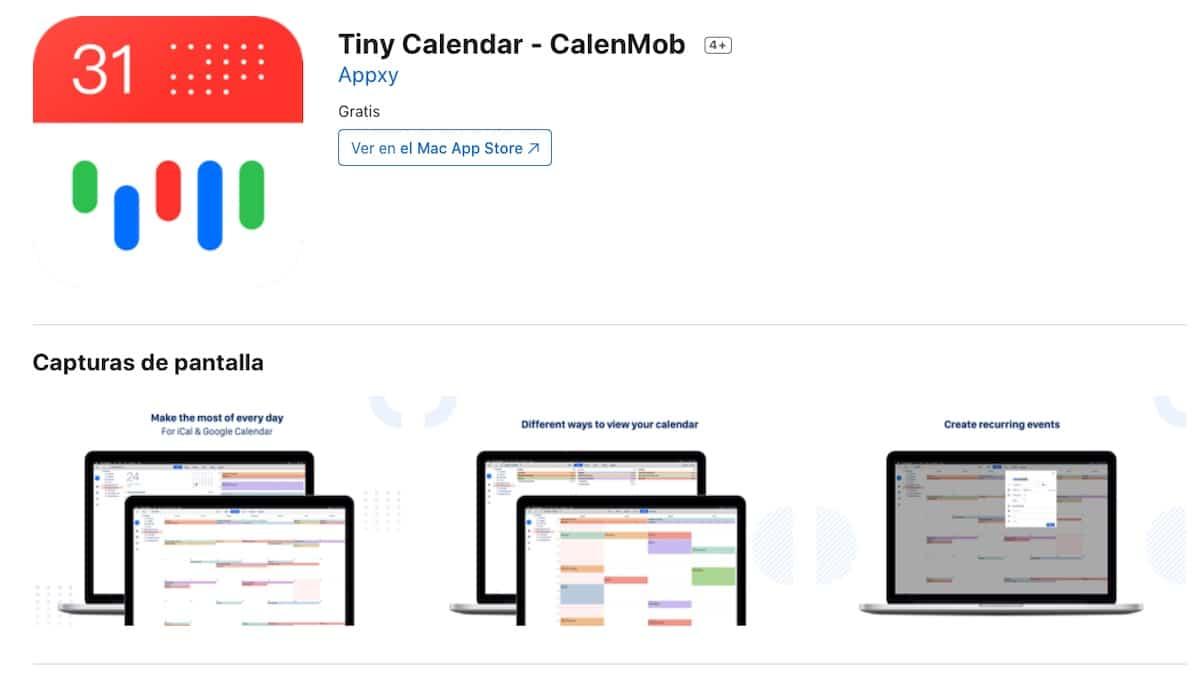 Tiny Calendar gratis