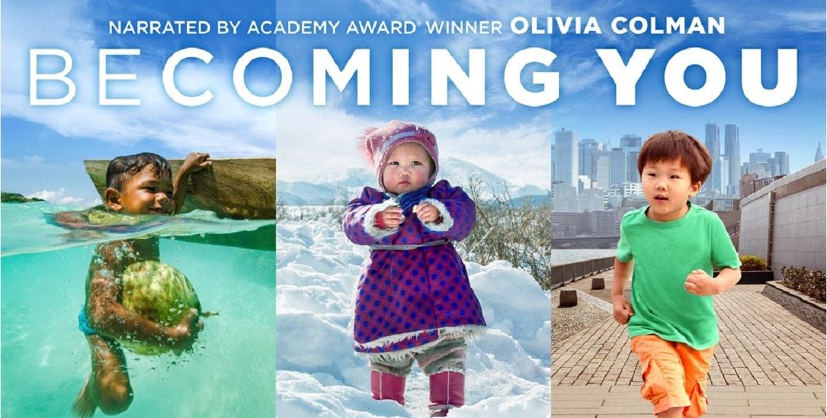 Imagen oficial de la serie de Apple TV+ Becoming You