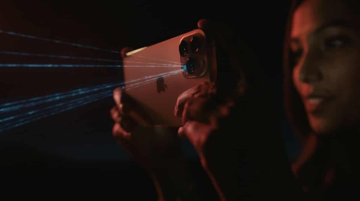 LiDAR en iPHone