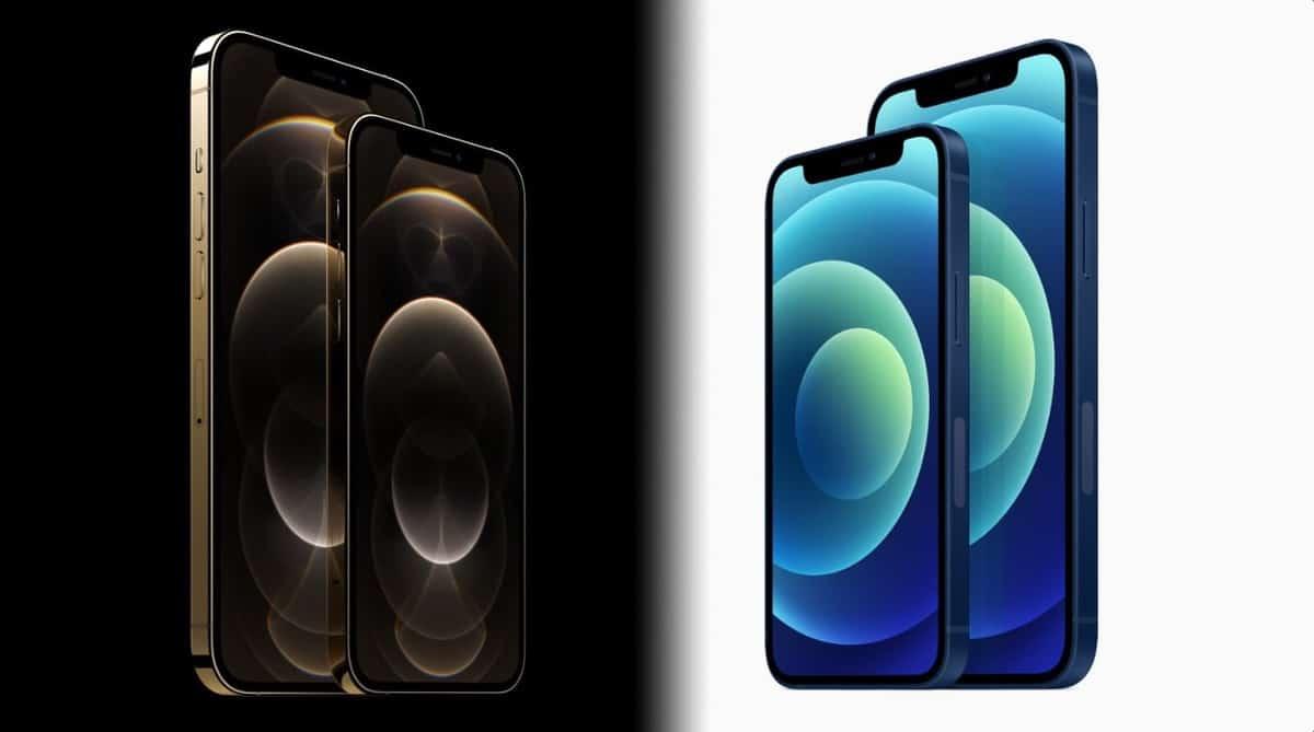 iPhone 12 delantera