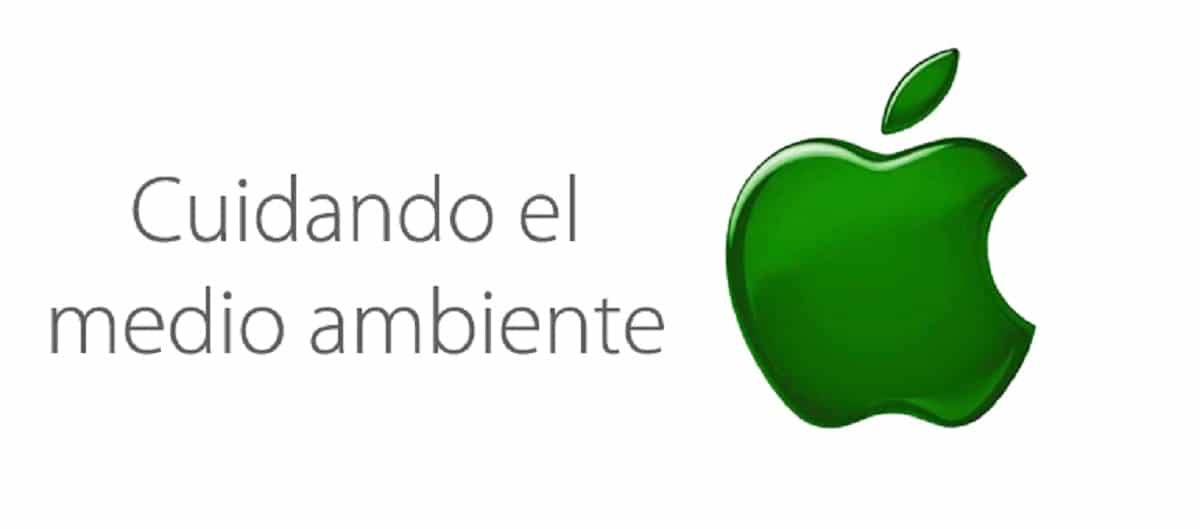 Apple cuida del medio ambiente