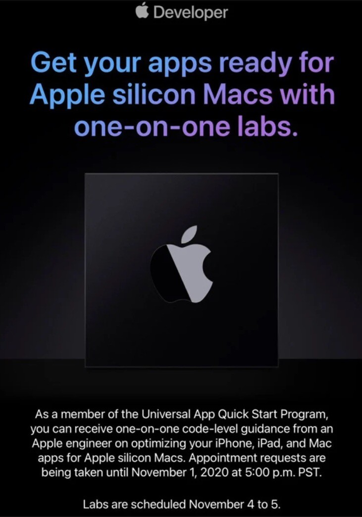 Apple programadores