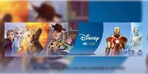 Disney 4K iTunes Store