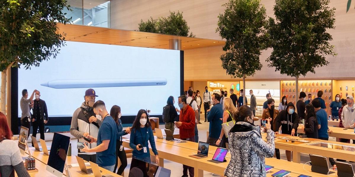 Apple Store Valley fair reinaugurada