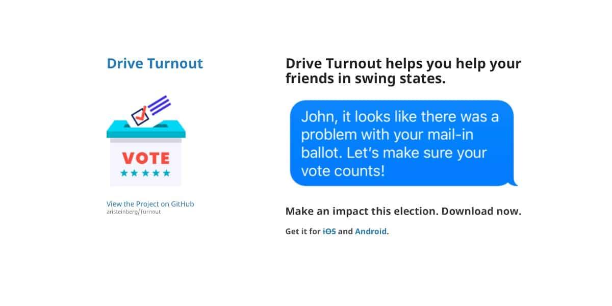 App vetada por Apple para el conteo de votos en las elecciones