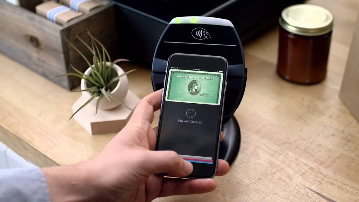 American Express en Apple Pay