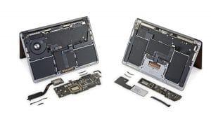 Interior de los nuevos MacBook por iFixit