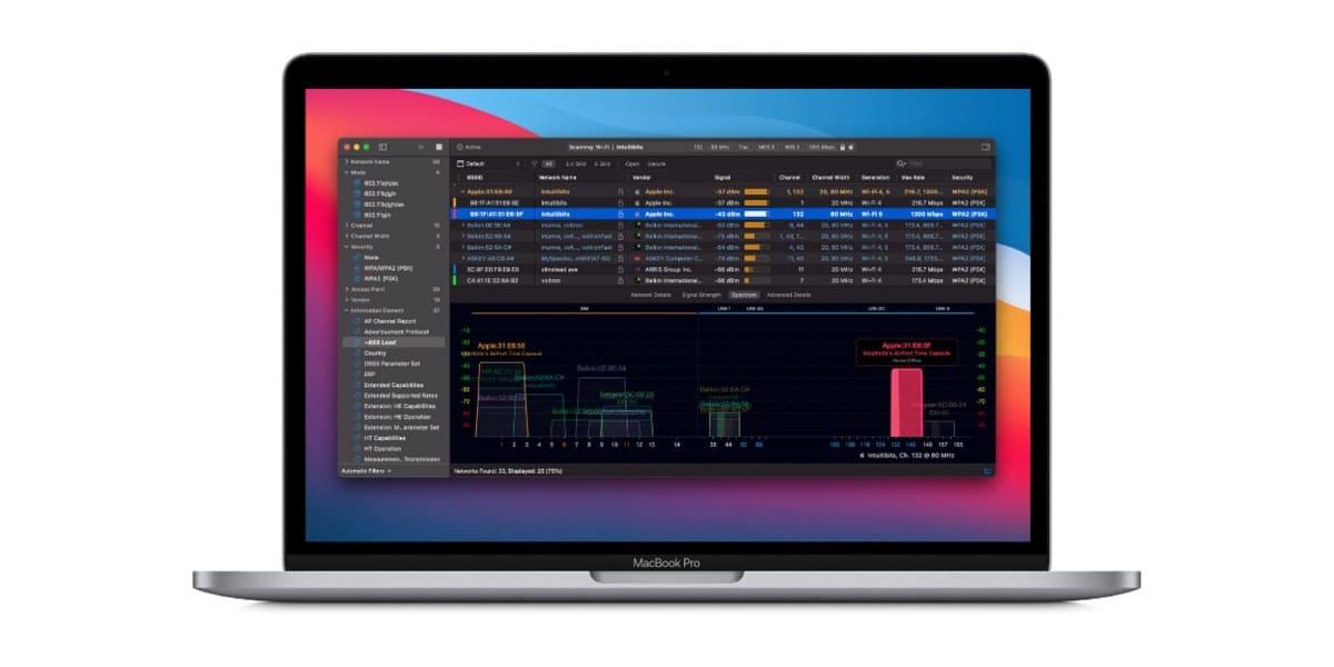 Wi-Fi- Explorer 3 actualización macOS Big Sur