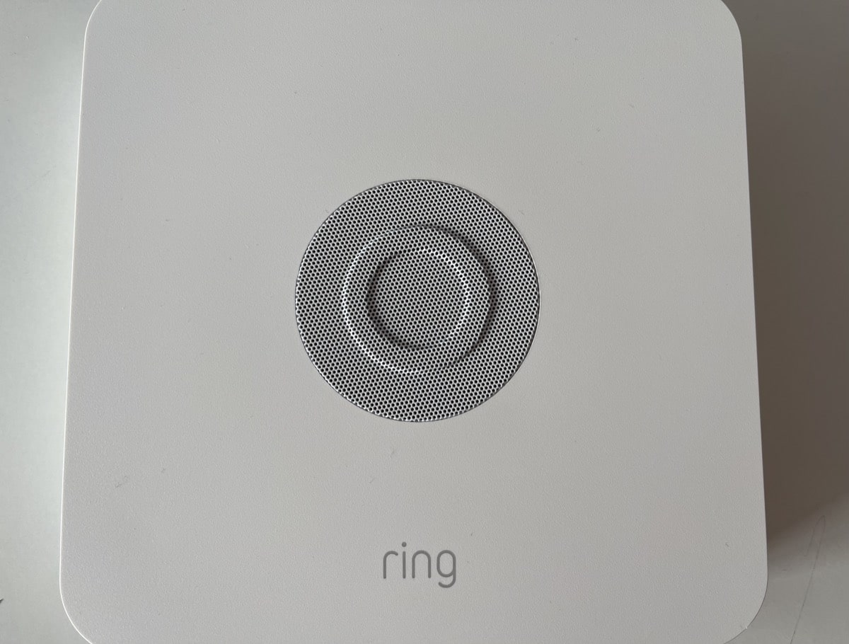 Base apagada Ring Alarm