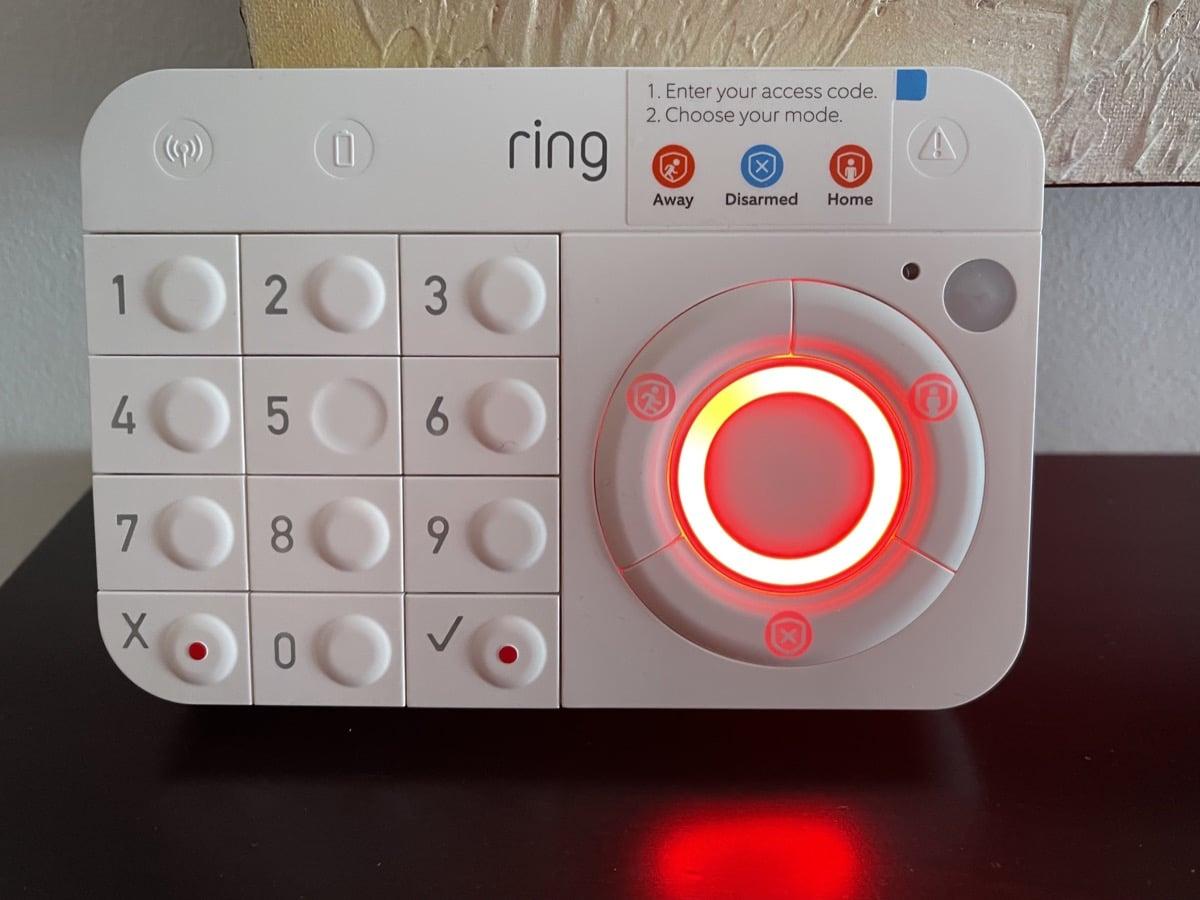 Teclado activado Ring Alarm