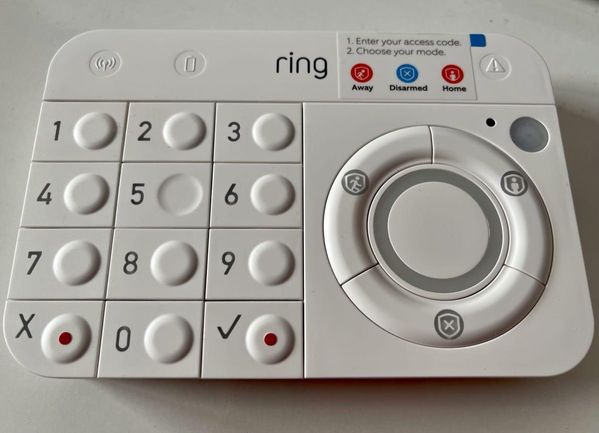 Teclado Ring Alarm