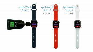 Comparativa altavoz Apple Watch