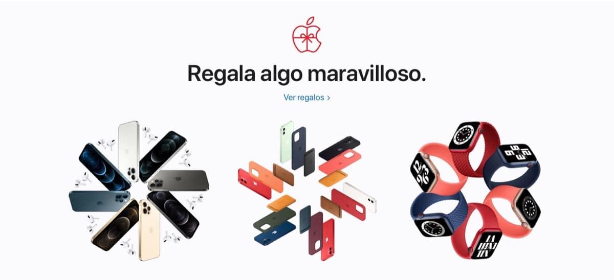 Regalos navidad Apple