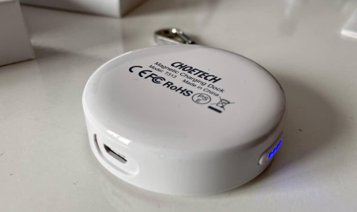 Cargador Choetech Apple Watch