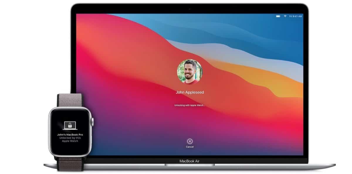 Desbloqueo Mac Apple Watch