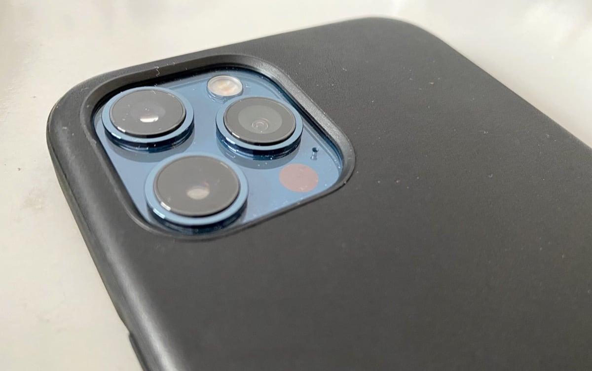 Cámara iPhone 12 Pro Max negra