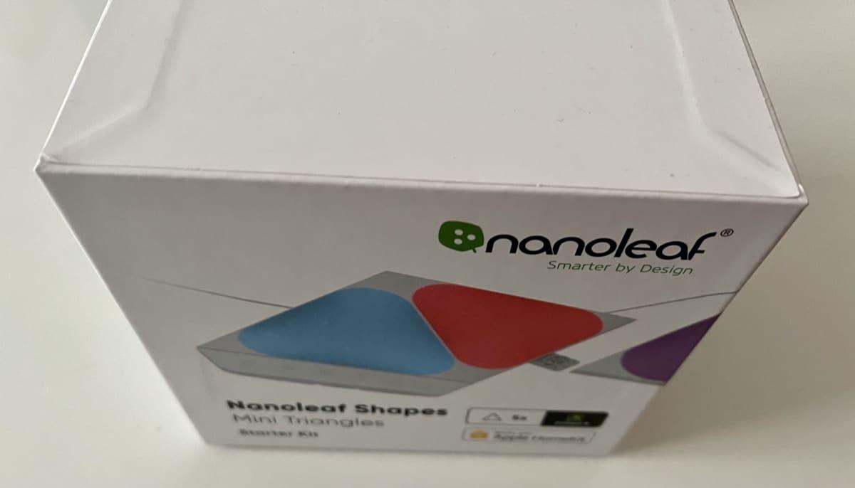 Caja Nanoleaf Mini Triangles