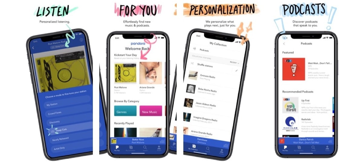 Pandora iOS