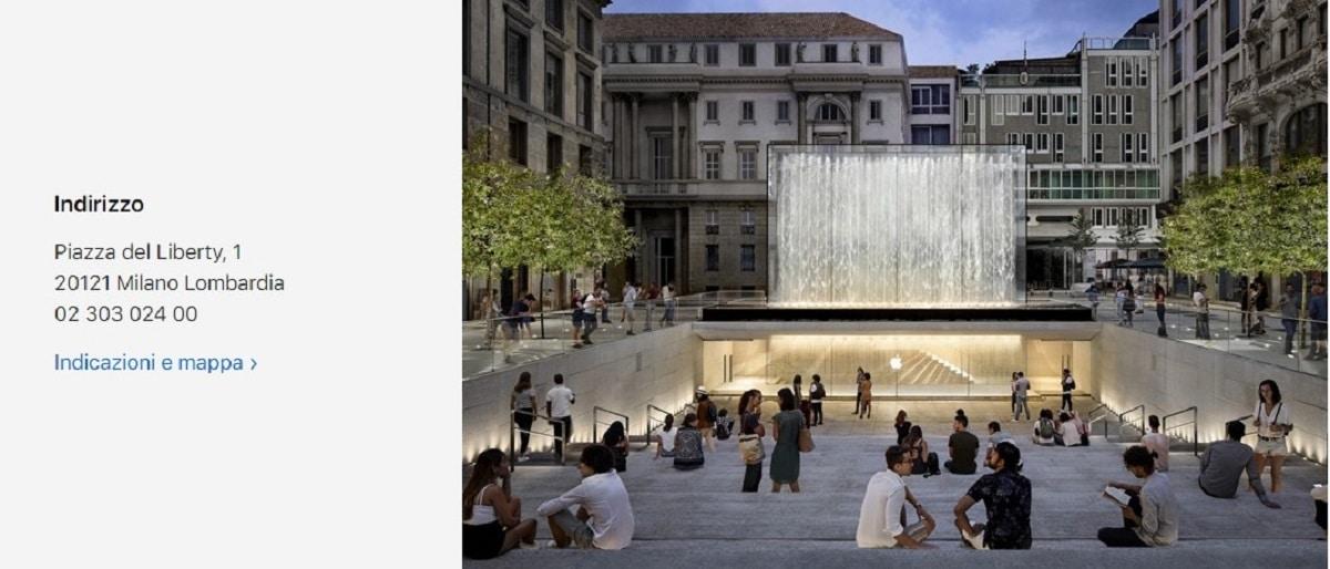 Apple Store de Italia