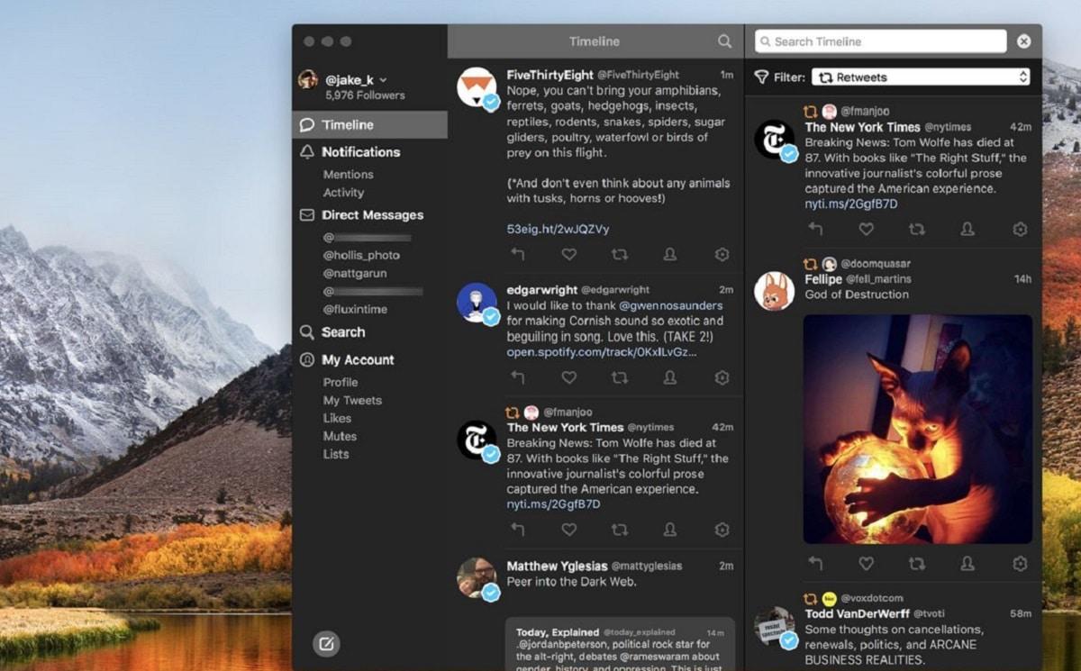 Tweetbot para Mac M1