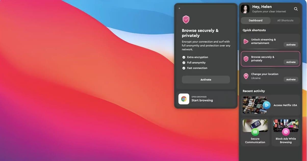 Clear VPN para Mac